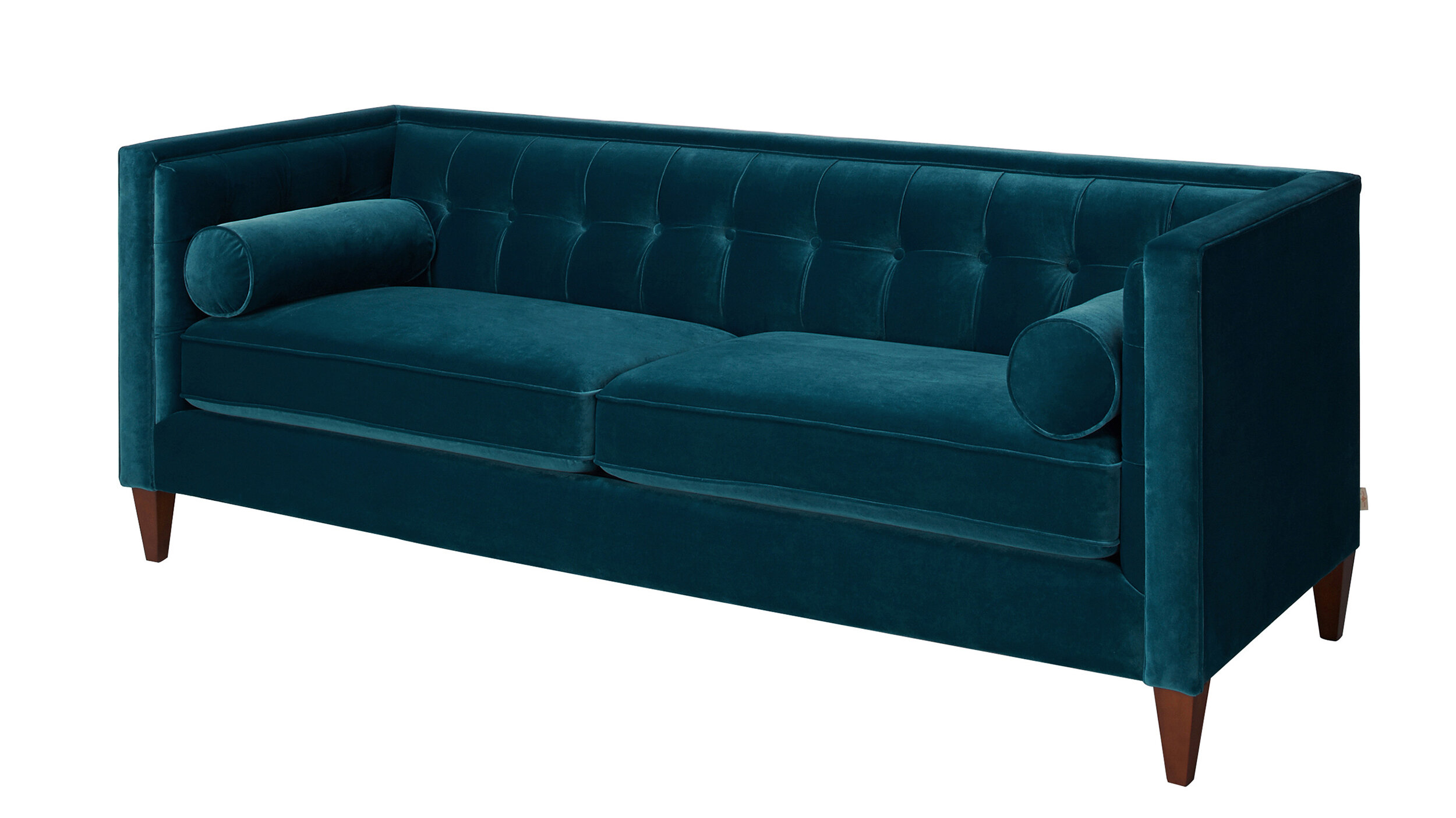 Amazing Willa Arlo Interiors Harcourt Tufted Chesterfield Sofa In Teal U0026 Reviews |  Wayfair