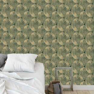Clavene Block Print 48 L X 24 W And Stick Wallpaper Panel