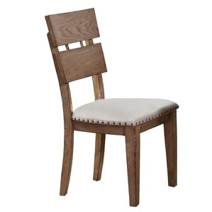 Plessis Plank Side Chair (Set of 2) by One Allium Way