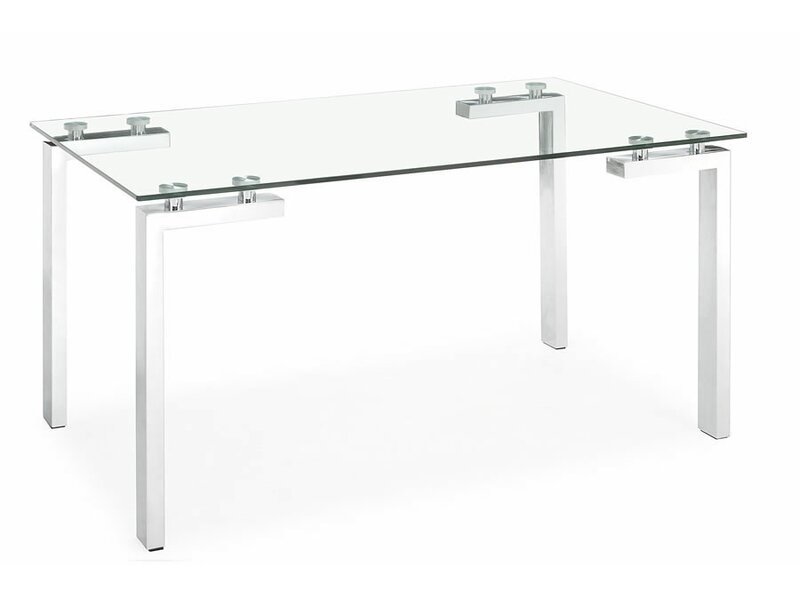 Superbe Roca Glass Dining Table