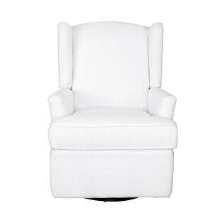 new product 144c1 14259 White Glider For Nursery | Wayfair