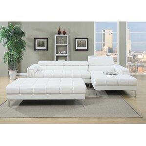 White Sectional Sofas You Ll Love Wayfair