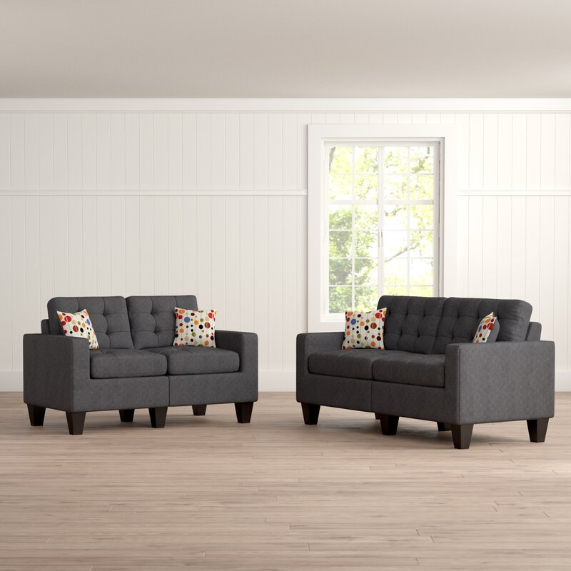 Superb Amia 2 Piece Living Room Set