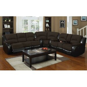 Asher Reclining Loveseat by E-Motion Furniture