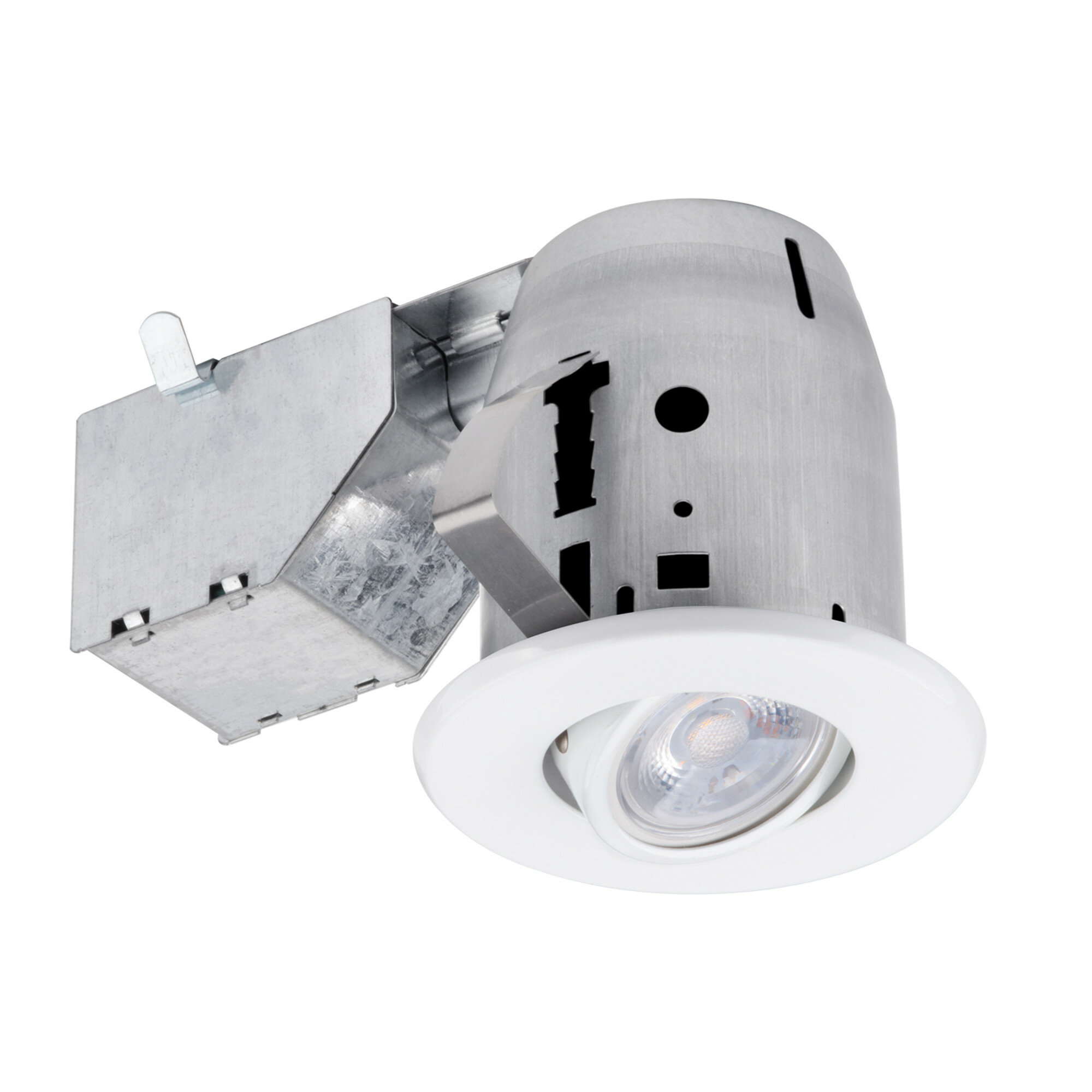 90717 Ic Rated Swivel 3 Recessed Lighting Kit