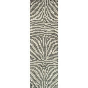 Surfside Hand-Tufted Grey Area Rug