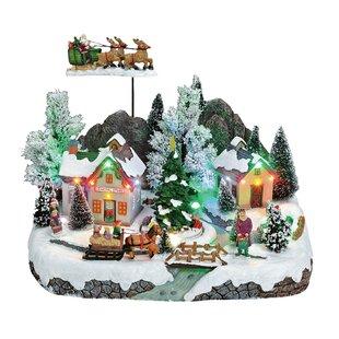 Wintry Christmas Scene Decorative Light by The Seasonal Aisle
