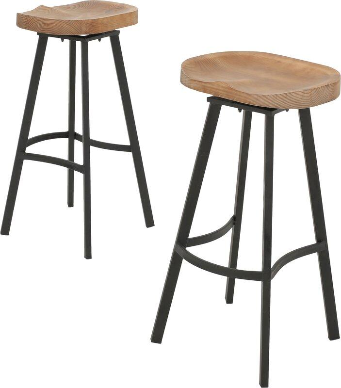 brayden studio bryson 31 5 swivel bar stool reviews wayfair