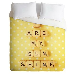 You Are My Sunshine Duvet Cover Set