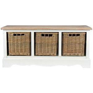 Sitzbank Gazon aus Holz mit Stauraum von Maison ..