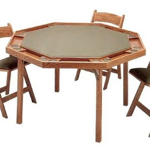 52 Maple Contemporary Cards Table