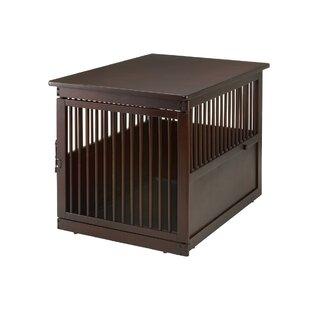 wooden end table pet crate - Dog Crate Side Tables