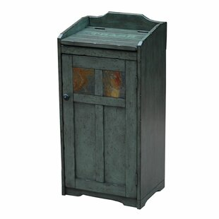 Wood 13 Gallon Trash Can