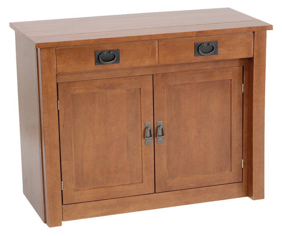 Shaker Mission Style Expanding Accent Cabinet