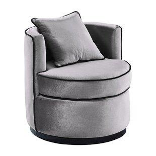 Incroyable Hinerman Swivel Armchair