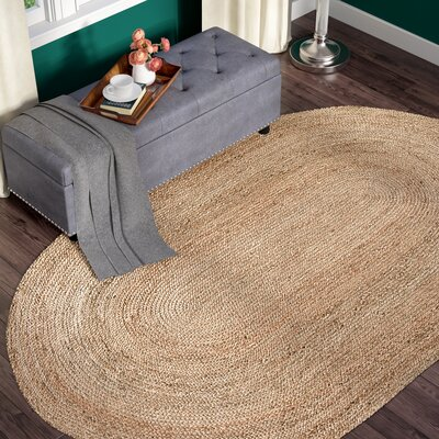 Chatham Hand Woven Wool Light Tan Area Rug