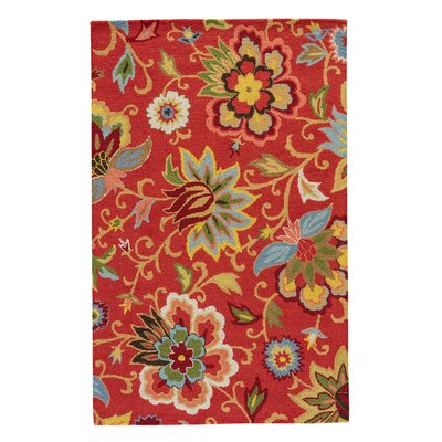 Floral Amp Plant Red Area Rugs You Ll Love In 2019 Wayfair