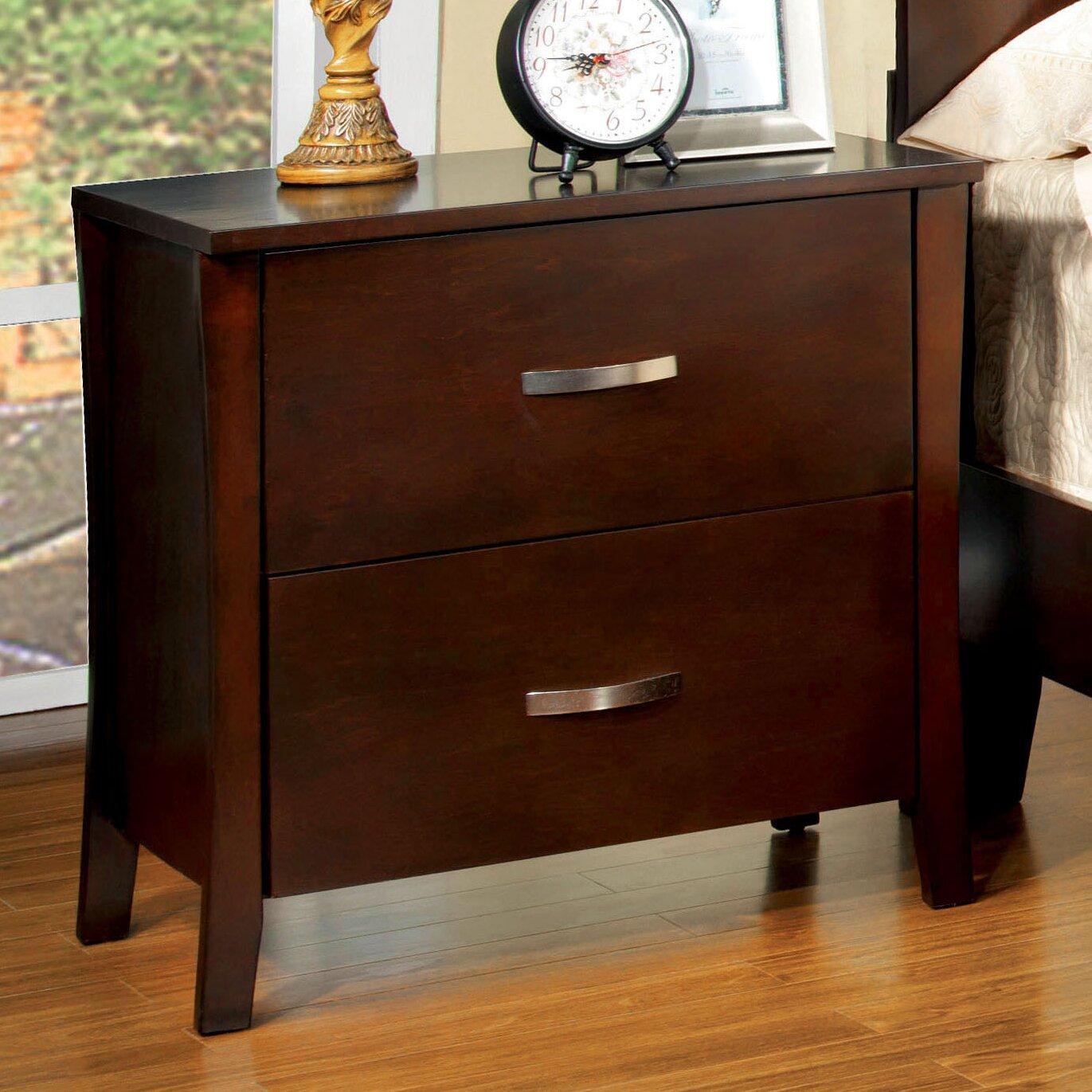 red barrel studio beauregard  drawer nightstand  reviews  wayfair - beauregard  drawer nightstand