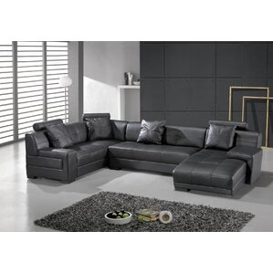 Houston Leather Sectional  sc 1 st  Wayfair : distressed leather sectional couch - Sectionals, Sofas & Couches