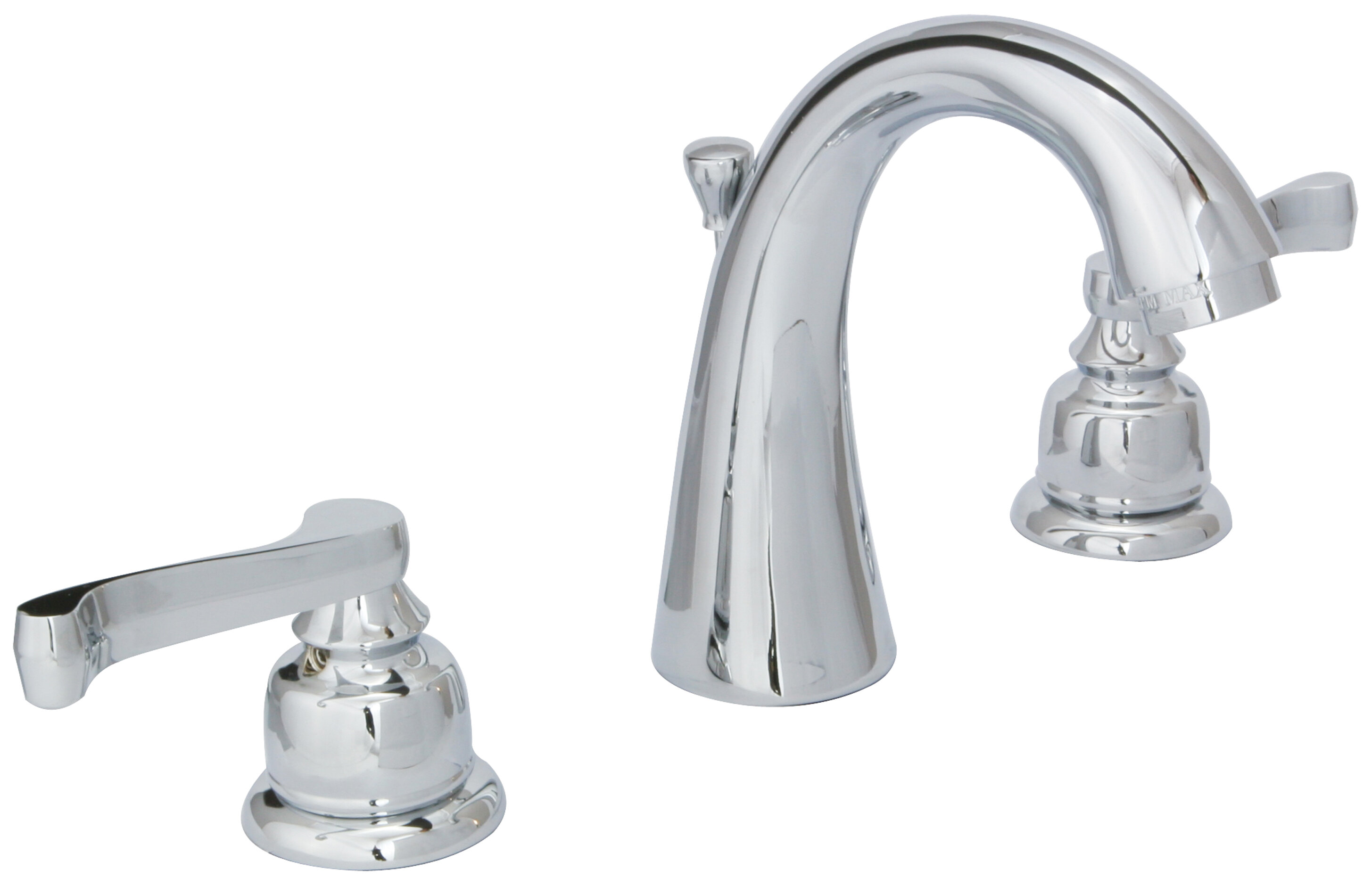 HuntingtonBrass Sienna Widespread Bathroom Faucet with Drain ...