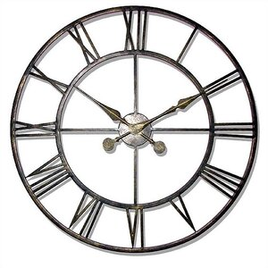 The Iron Tower Large Wrought Iron Wall Clock