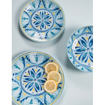 Hubler Medallion 12 Piece Melamine Dinnerware Set Service for 4  sc 1 st  Wayfair & TarHong Moroccan Medallion Melamine 12 Piece Dinnerware Set Service ...