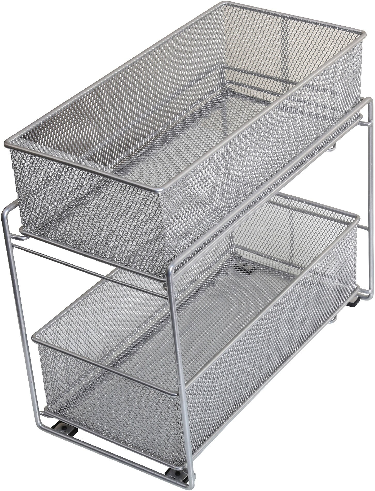 Charmant YBM Home 2 Tier Mesh Roll Out Cabinet Organizer Drawer U0026 Reviews | Wayfair