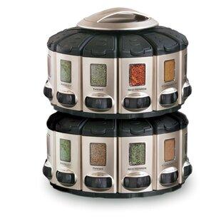 c1d53827d85bf Ensemble de pots et support à épices 12 pots