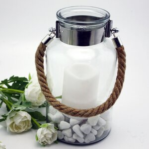 Glass/Metal Lantern