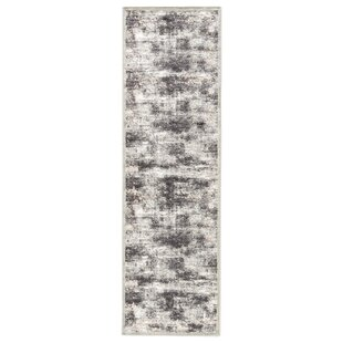 Purchase Ackerly Abstract Gray/White Area Rug By Ophelia & Co.