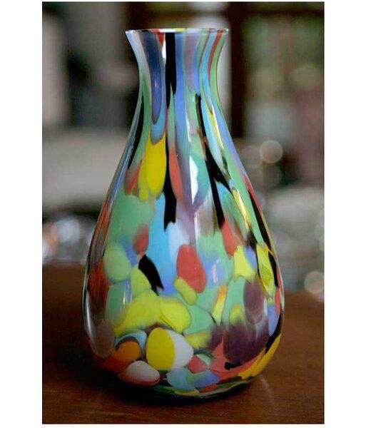 Novica Carnival Murano Hand Blown Vase Reviews Wayfair