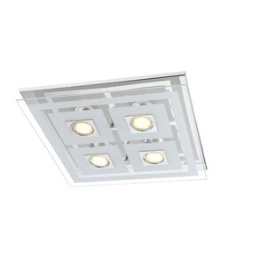 Square bathroom ceiling lights wayfair zoe led ceiling light aloadofball Images