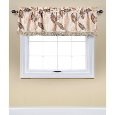 Soto 60 Window Valance Alcott Hill Color: Brown