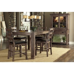 Aylin Counter Height Extendable Dining Table by August Grove
