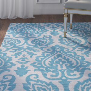 Southwell Hand-Tufted Blue Area Rug