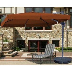 santorini ii 95u0027 x 11u0027 rectangular cantilever umbrella