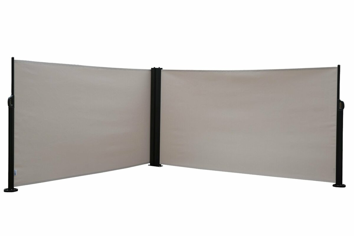 Folding Screen Abba Patio 624 X 2364 Retractable Folding Screen Fence Privacy