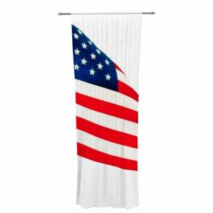 American Flag Curtains Wayfair