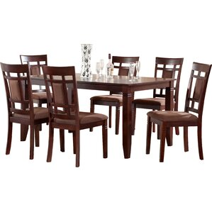 Ighli 7 Piece Dining Set Kitchen  Room Sets You ll Love