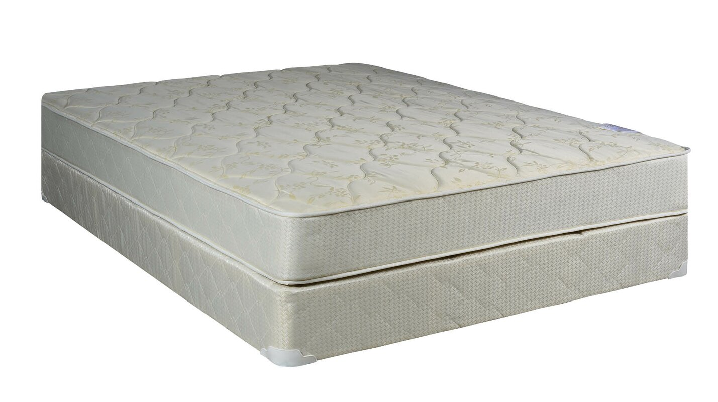 spinal solution 8 firm innerspring mattress with box spring reviews. Black Bedroom Furniture Sets. Home Design Ideas