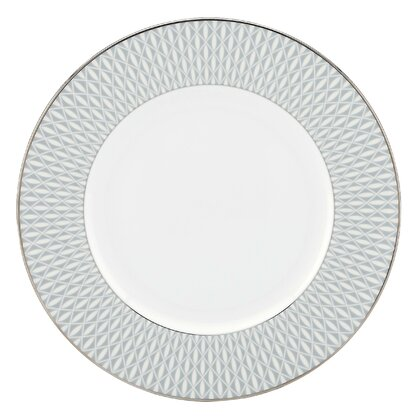 Mercer Drive 10.75  Dinner Plate  sc 1 st  Perigold & Geometric Plates u0026 Saucers | Perigold