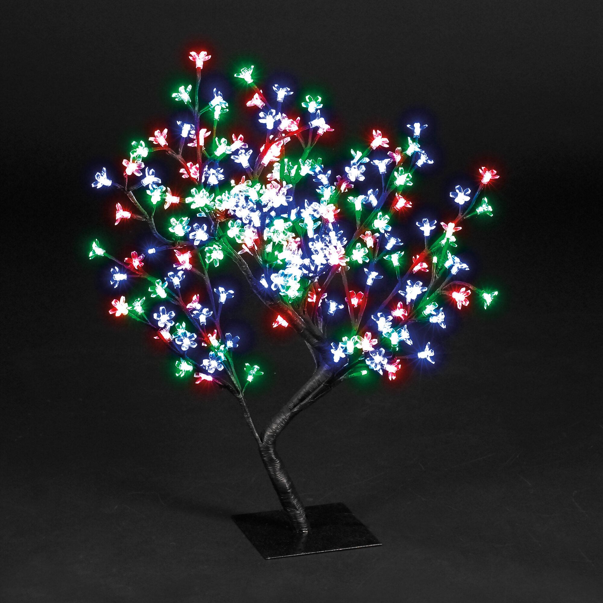Hometime snowtime 96 led light blossom tree reviews wayfair aloadofball Image collections