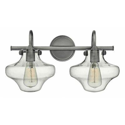 Mercury Row Preslar 2-Light Vanity Light & Reviews | Wayfair