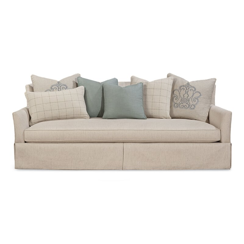 Palm Harbor Upholstered Skirted Sofa