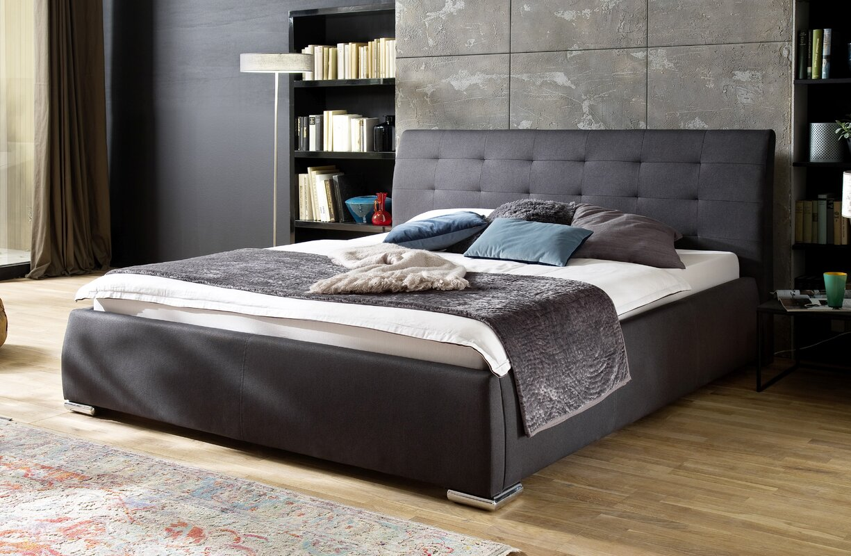 meise m bel polsterbett bravo mit stauraum 180 x 200 cm. Black Bedroom Furniture Sets. Home Design Ideas