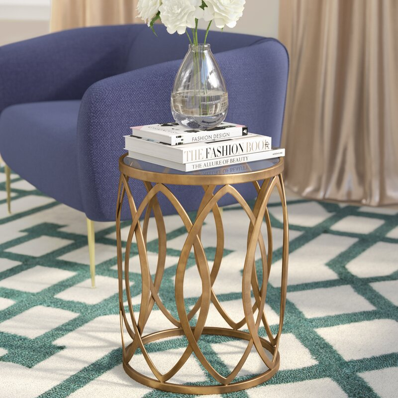 Glass End Tables Youll Love Wayfair