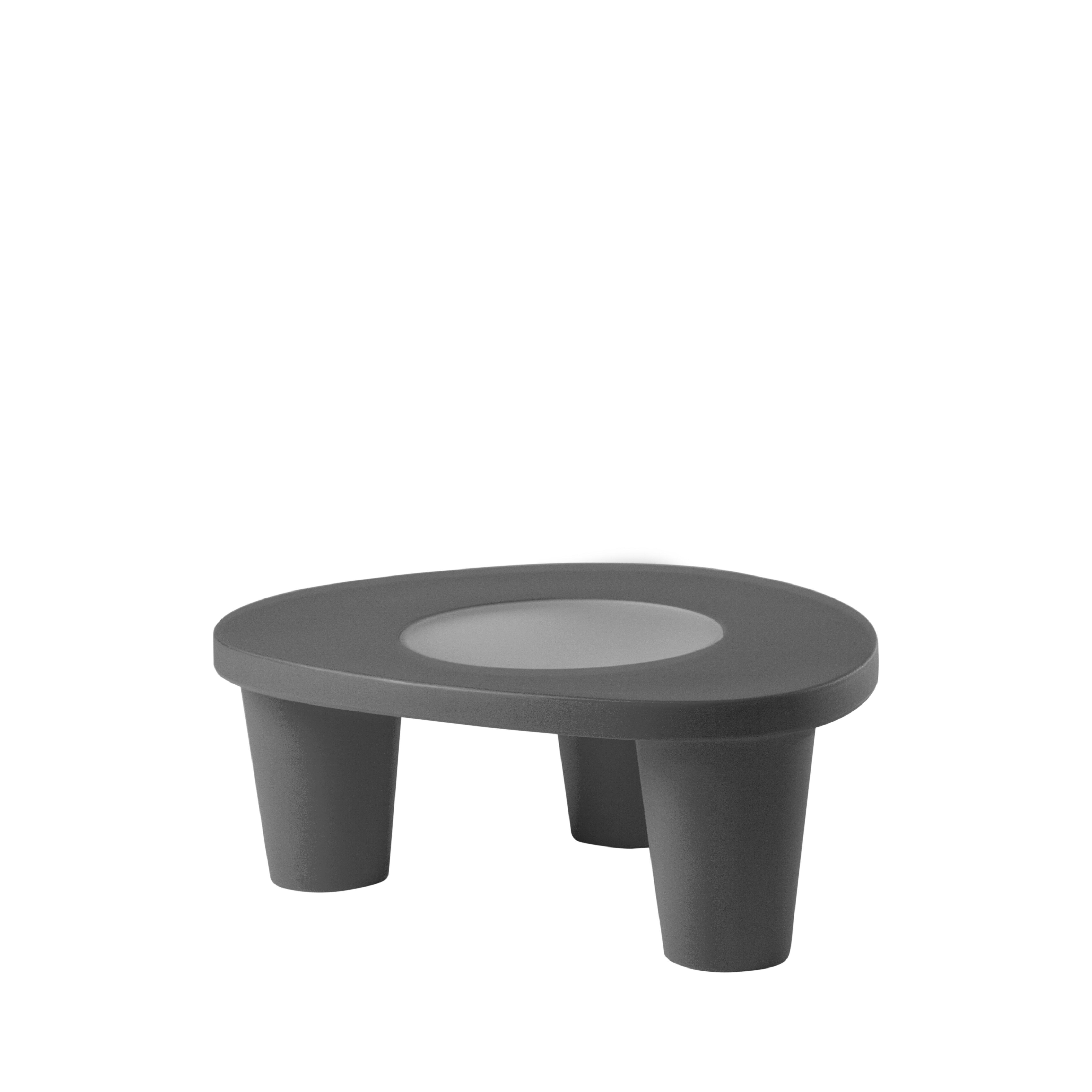 Low Plastic Coffee Table: Brayden Studio Low Gatun Plastic Coffee Table