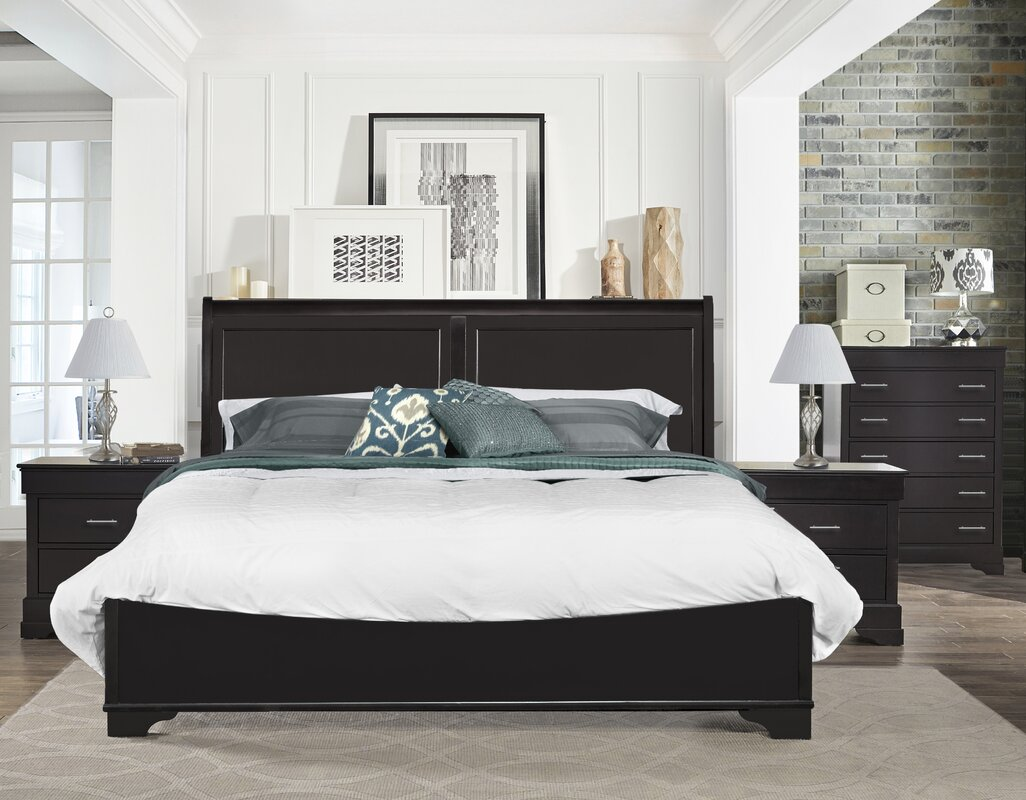 Alcott Hill Mcmahon Platform Bedroom Set & Reviews | Wayfair