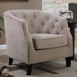 Timberlane Tufted Armchair by Alcott Hill