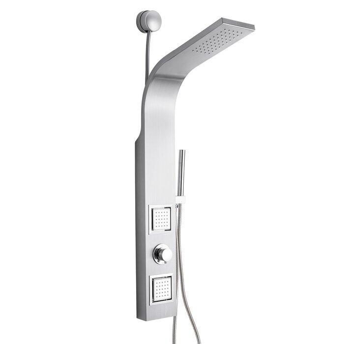 AKDY Dual Shower Head Shower Panel & Reviews | Wayfair.ca